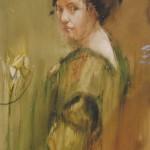 <em>Portrait of Mildred Crouch</em>, 1907