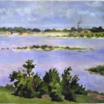 [Blue Water, Green Trees], 1910s