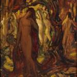 <em>Russian Ballet: Nudes Dancing in Forest</em>, 1912