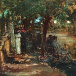<em>Evening Stroll</em>, 1913
