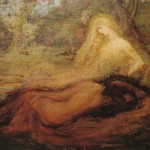 <em>Two Nudes in Woods</em>, 1913