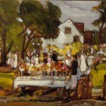 <em>Garden Party</em>, ca. 1913