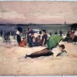 <em>On the Beach</em>, 1914