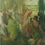 <em>Dancing Nymphs</em>, 1914