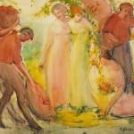 <em>Grape Harvest</em>, 1914