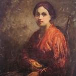 <em>Katie in Red</em>, 1914