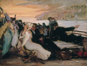 Outing on the Hudson, 1914