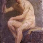 <em>Seated Nude</em>, 1914