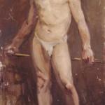 <em>Standing Nude</em>, 1914