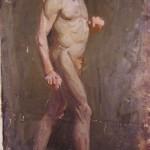 Standing Nude, 1914