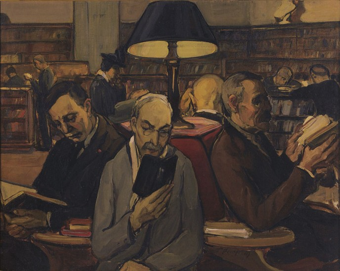 The Readers, 1914