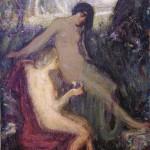 <em>Two Nymphs</em>, 1914