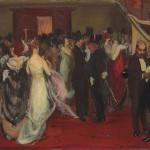 <em>The Opera Lobby</em>, 1915