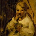 <em>Boy in yellow</em>, 1915