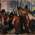 <em>Street Workers</em>, 1915