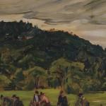 <em>Fixing the Road – Gray Day</em>, 1916