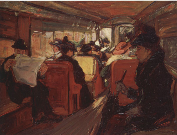 In the Elevated, 1916