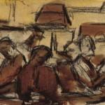 Study for <em>The Readers</em>, 1914