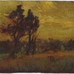 [Two Trees in a Field], 1916