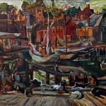 <em>On the Docks, Gloucester</em>, ca. 1916