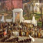 <em>Armistice Day Parade: The Altar of Liberty</em>, 1919