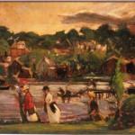 <em>Landscape wtih Figures</em>, 1917