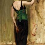 <em>Woman with a Parrot</em>, ca. 1917