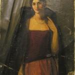 <em>Portrait of Florence Soman</em>, 1918
