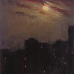[Moon over Cityscape], 1913