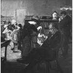 <em>New York Public Library Interior</em>, ca. 1918