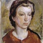 <em>Theresa: Self Portrait</em>, 1920