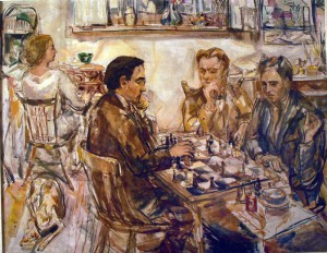 The Chess Players, 1926