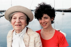 Theresa Bernstein and Michele Cohen in Gloucester, MA