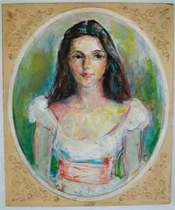 Portrait of Nancy Farrell, 1961