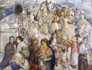 The Immigrants, 1923
