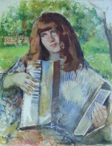 Portrait of Diane by Meyerowitz