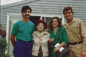 Keith Carlson, Theresa Bernstein, Barbara Lepidus Carlson, and Ken Carlson